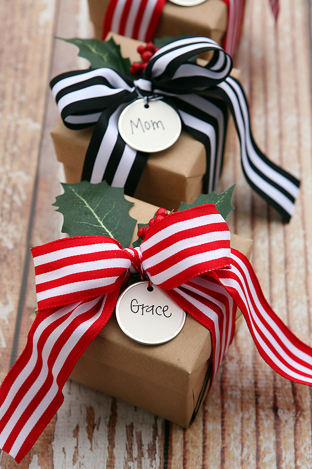 Christmas Gift Wrapping Ideas Eighteen25