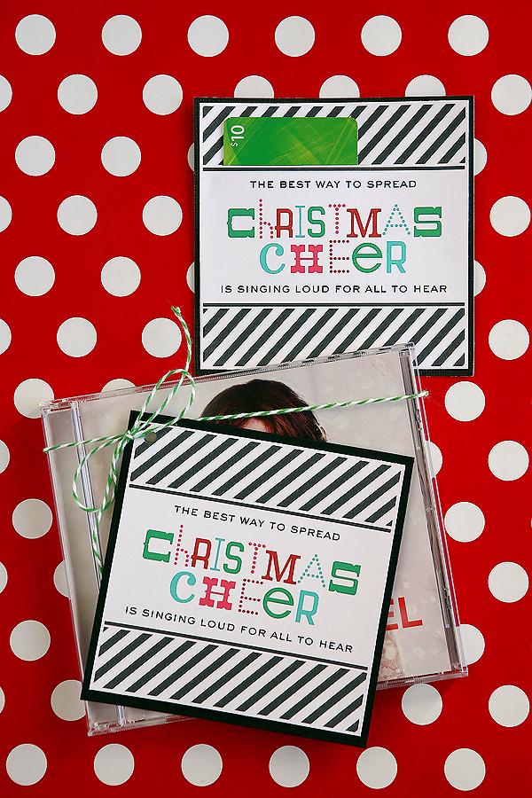 christmas neighbor gifts with free printables eighteen25 - 12 Days Of Christmas For Neighbors