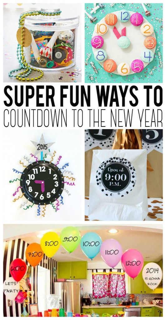 Super Fun Ways to Count Down to the New Year!!