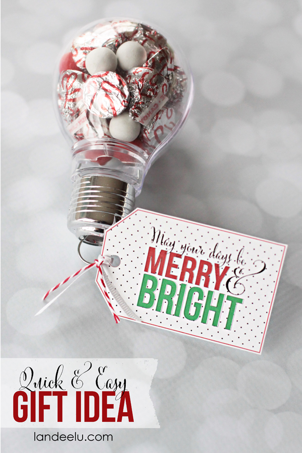Christmas Neighbor Gifts with Free Printables - Eighteen25