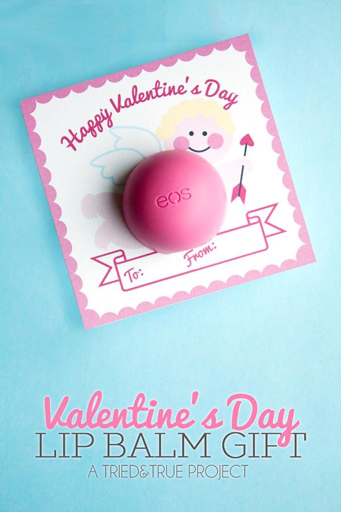 Valentine\'s Day Lip Balm Gift - Eighteen25