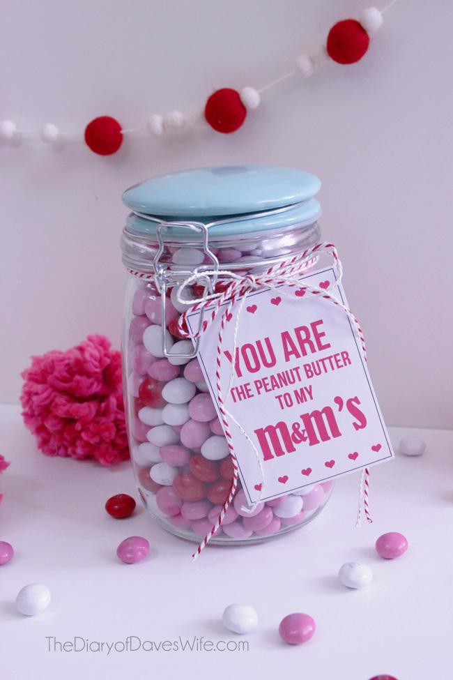 Peanut Butter M Amp M S Valentine Gift Eighteen25