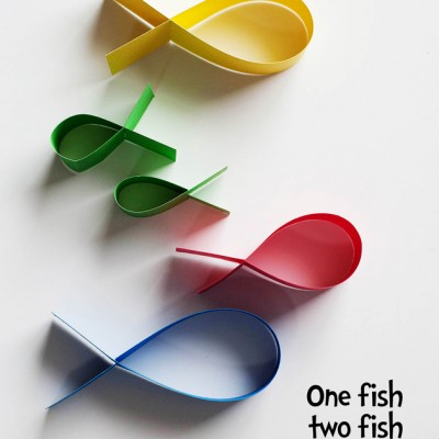 One Fish Two Fish Flying Fish Craft