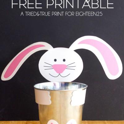 Easter Bunny Tin