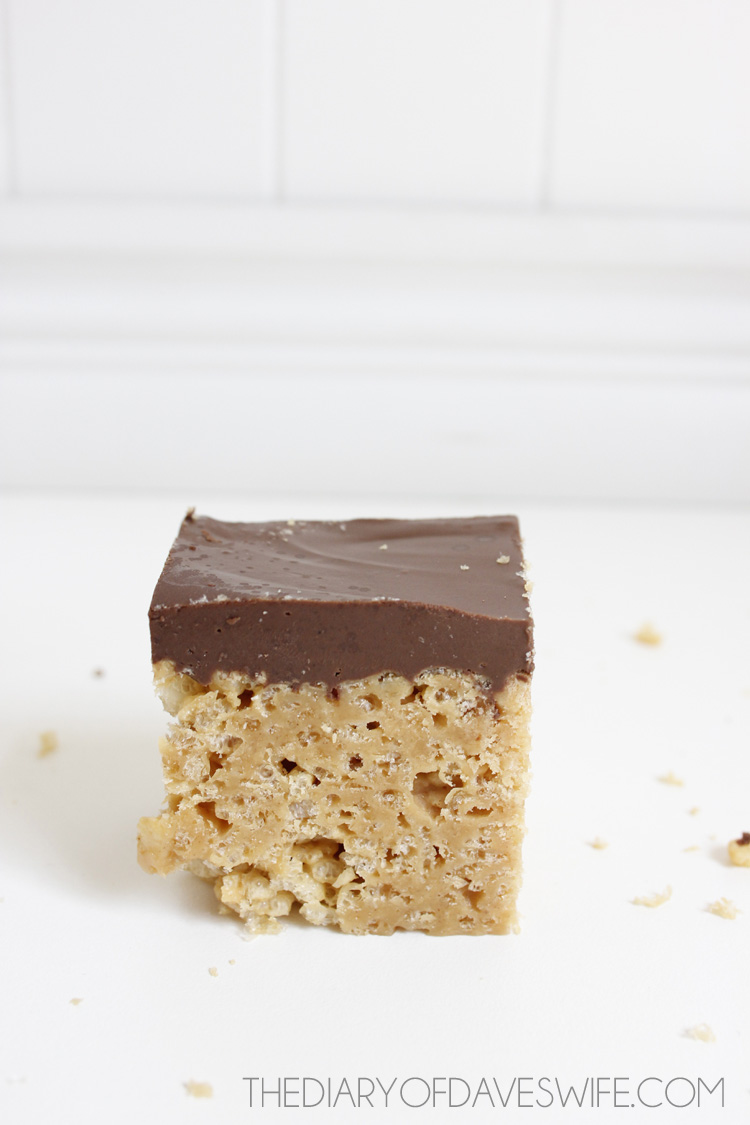 Peanut Butter Rice Crispy Bars | Rice Crispy treat recipes