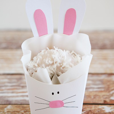 Fry Box Bunny – Easter Treat Containers