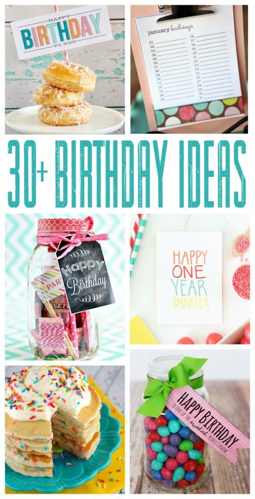 thirty fun birthday ideas eighteen25
