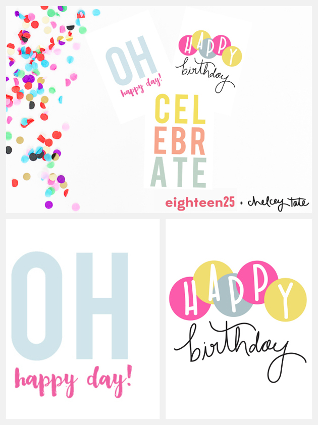 printable birthday note cards - Printable Note Cards