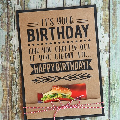It's Your Birthday – Printable Cards