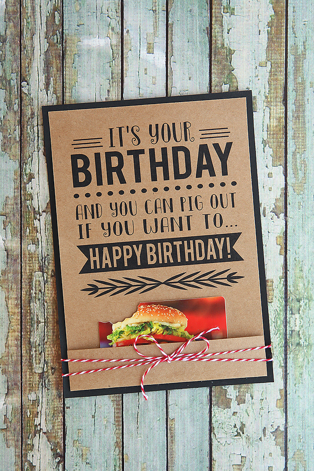 Its Your Birthday Printable Cards Eighteen25