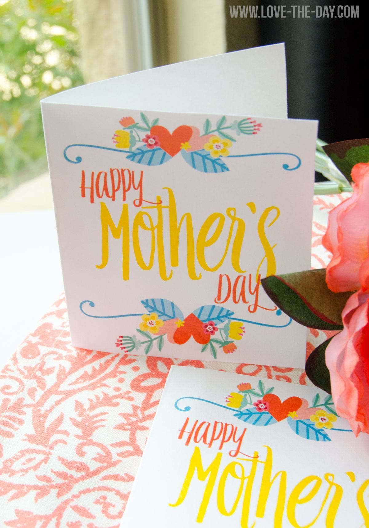 Free Printable Mother's Day Card | Love The Day