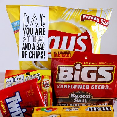 Dad You Are All That And A Bag Of Chips!