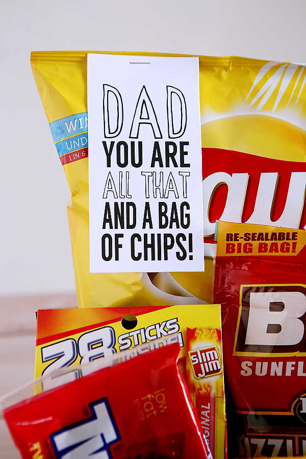 dad you are all that and a bag of chips