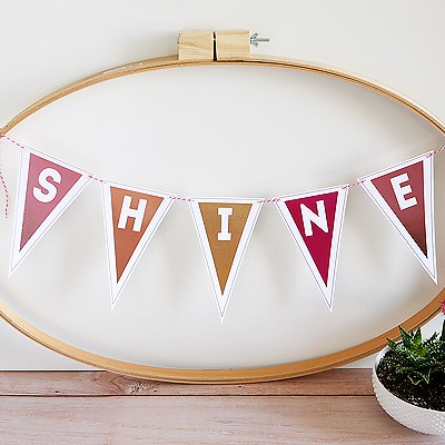 DIY Shine Banner Using the Minc