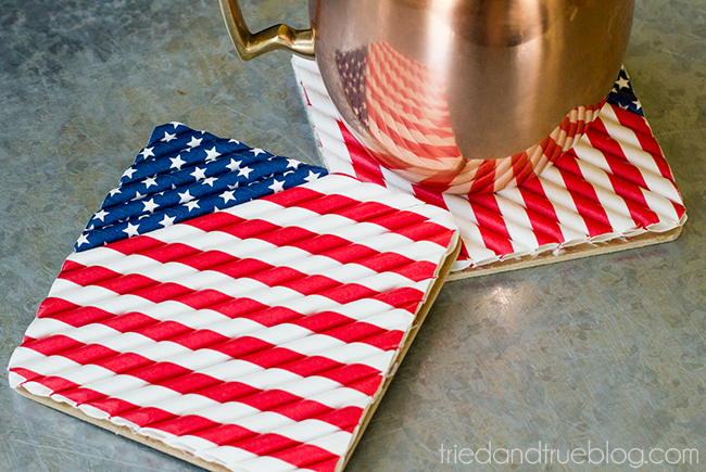 4RU Patriotic-Straw-Coasters-3