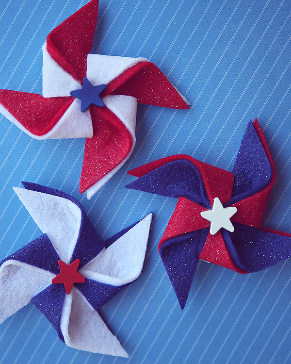 4RU pinwheel-hair-clip-4th-july