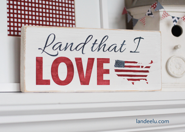 4th Hand-Painted-Sign-4th-of-July