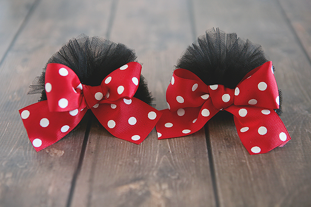 Minnie ear clips