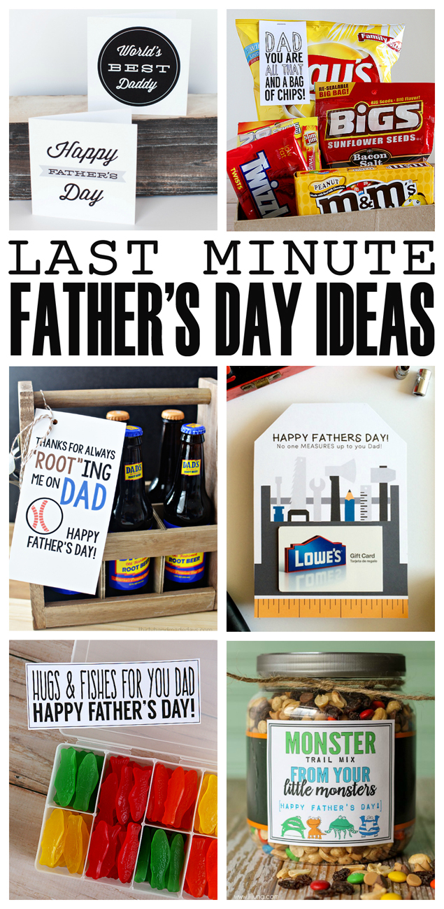 Last Minute Father's Day Ideas