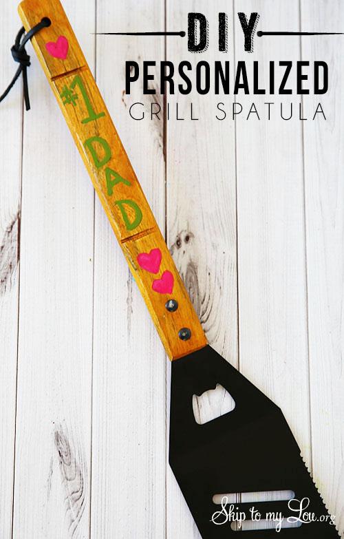 fd personalized-grill-spatula