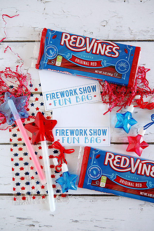 firework show bags