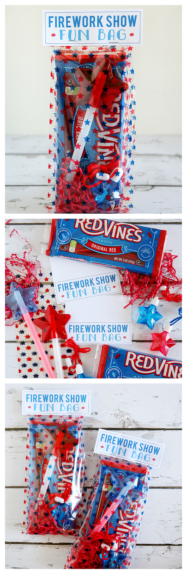 4th of July Firework Show Fun Bags for the Kids!!