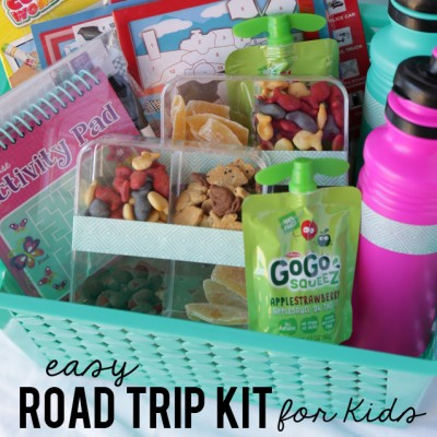 Road Trip Kit For Kids Plus Great Tips