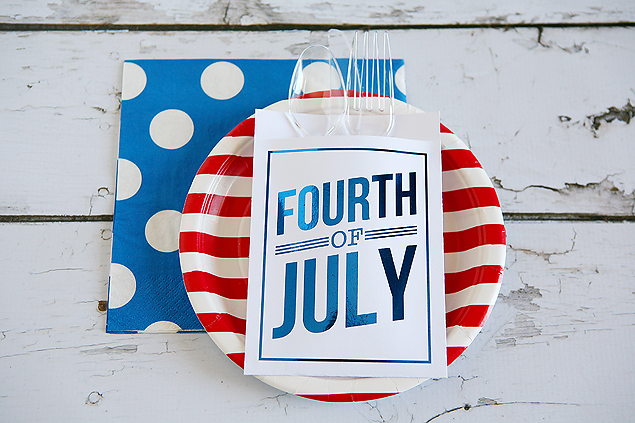 utensil holders fourth of july