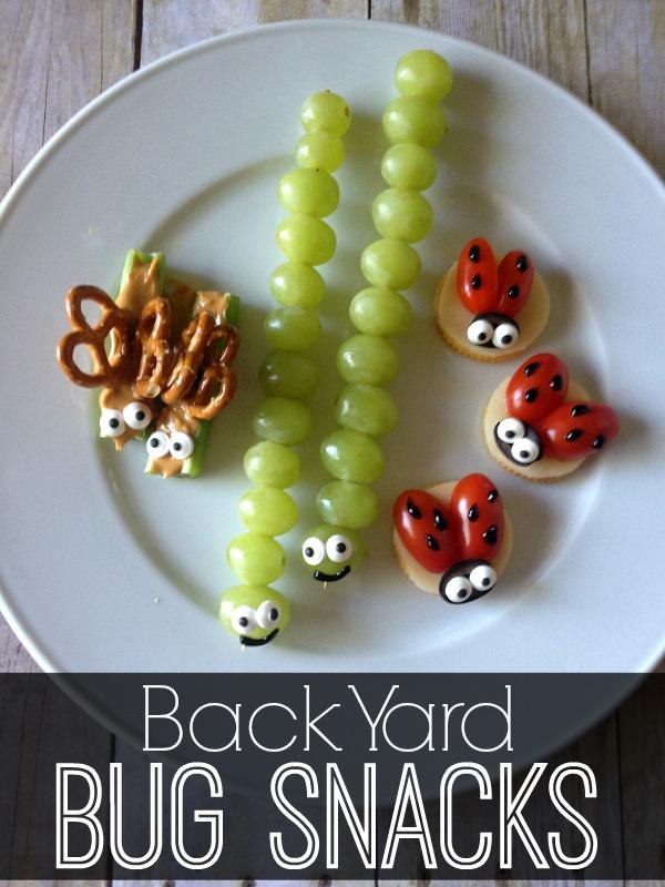 Backyard Bug Snacks | via The Crafting Chicks