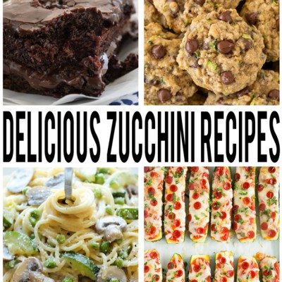 Zucchini Recipes You Have To Try