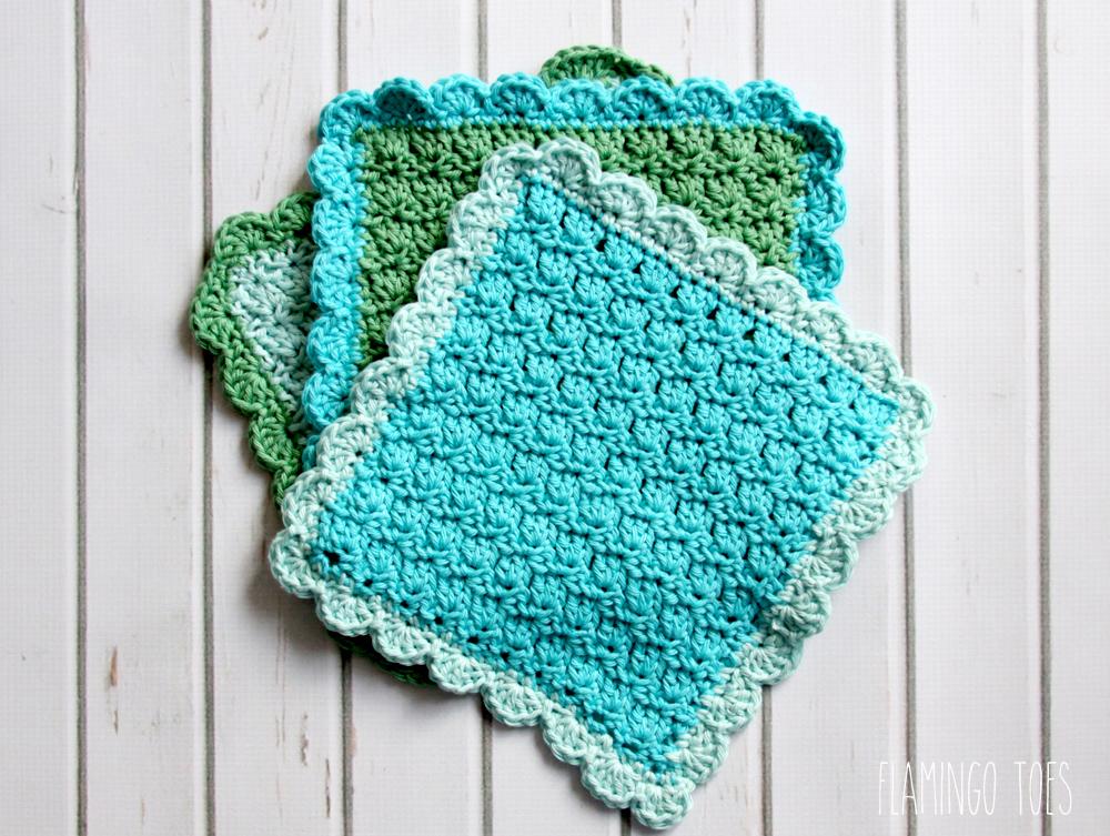 Easy-Crochet-Washcloths