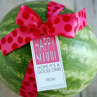 Free Printable Happy Summer Tags