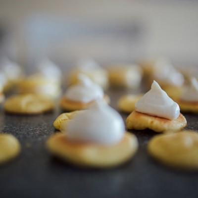 Sweet Lemon Cookie Sandwiches