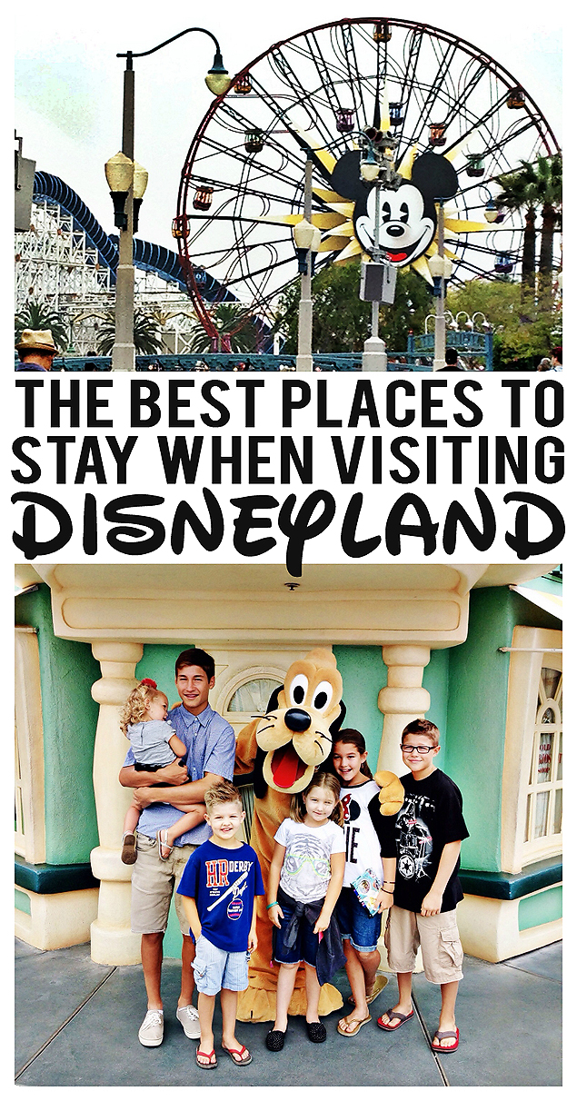 The Best places to stay when visiting Disneyland. Our experiences staying at some of the best places surrounding Disneyland.