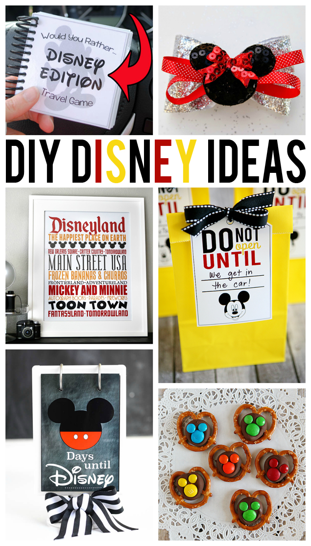 diy disney ideas collage