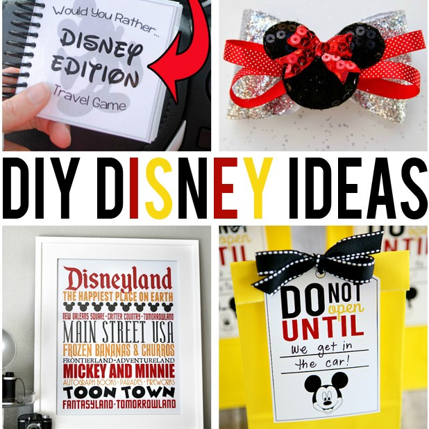 DIY Disney Ideas - Eighteen25