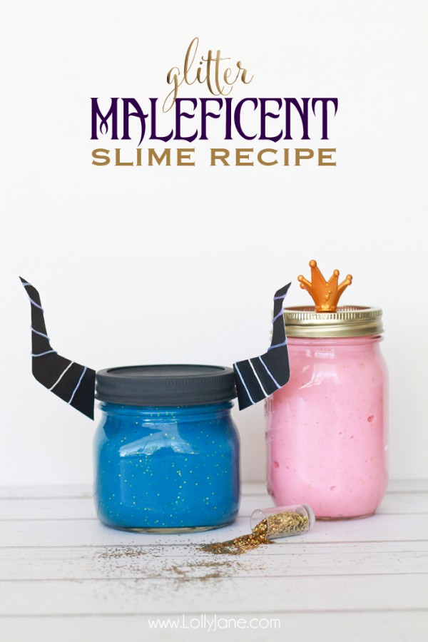 dl Sleeping-Beauty-Maleficent-glitter-slime-recipe--600x900