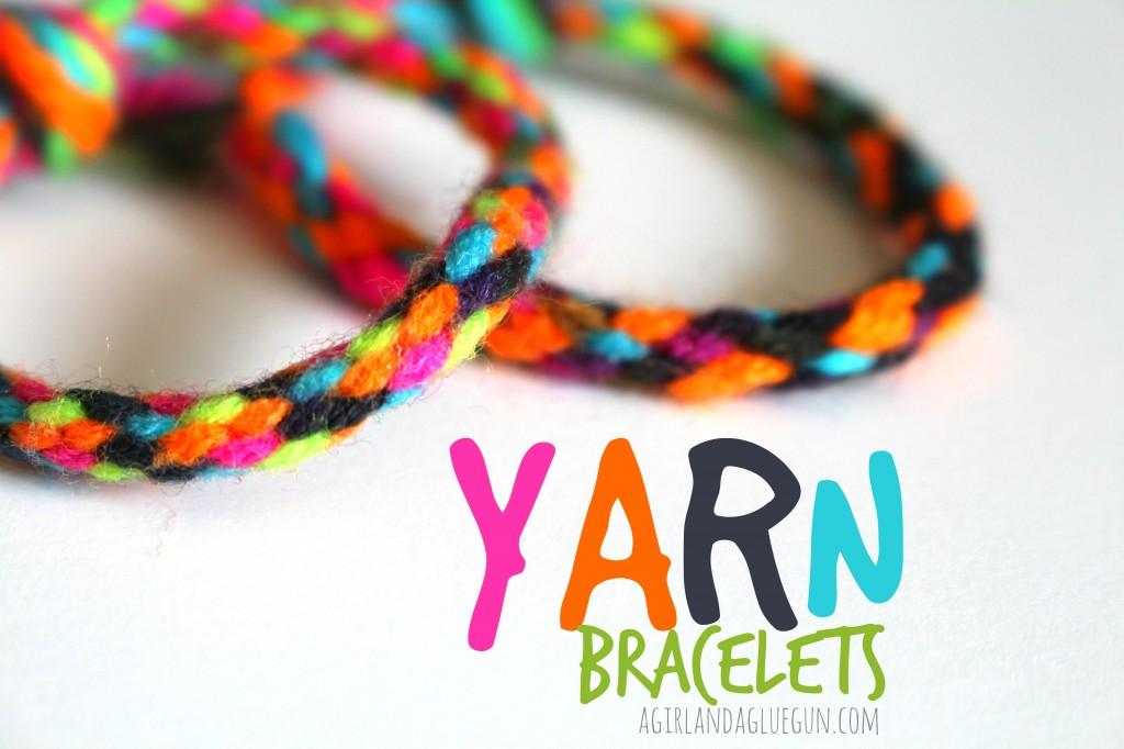 kc yarn-bracelets-kid-craft-1024x682