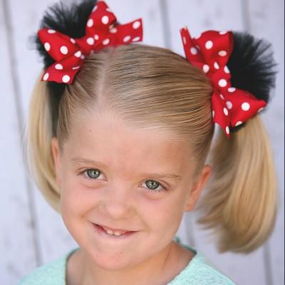 Minnie Hair Clips