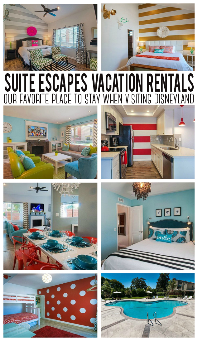 Suite Escapes Vacation Rentals. Love staying here when visiting Disneyland. The owners have thought of everything and the decor is amazing!!