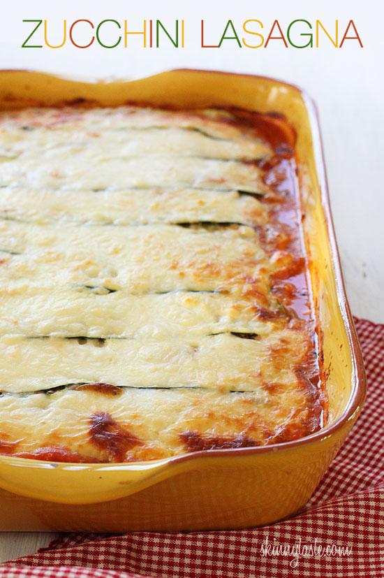 zu Skinnytaste-Zucchini-Lasagna