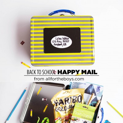 Back to School Happy Mail