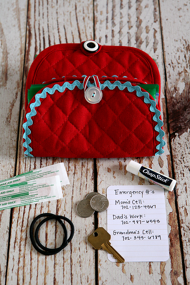 kids emergency clutch
