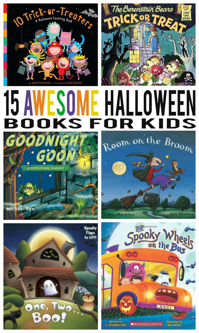 15 Awesome Halloween Books For Kids