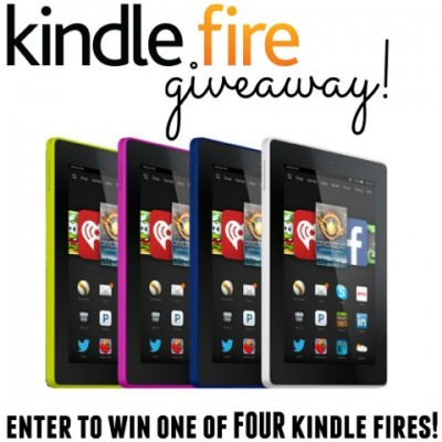 Kindle Fire Giveaway!