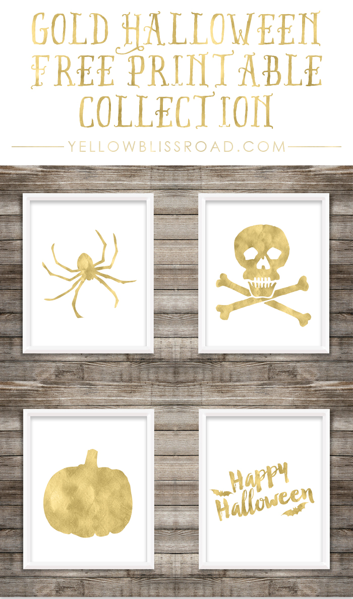Free-Printable-Gold-Halloween-Collection