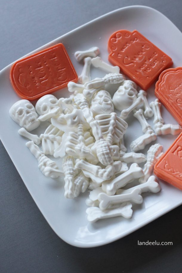 Chocolate Candy used on Halloween Cake