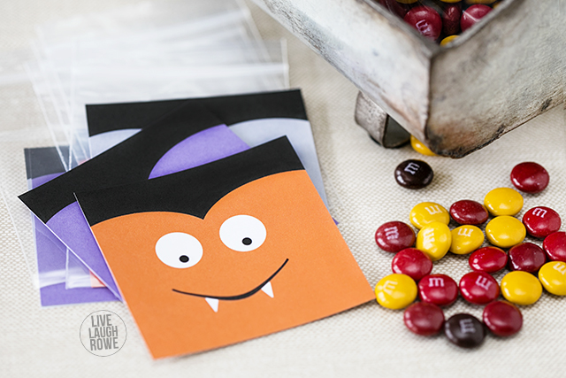 Sweet Vampire Halloween Treat Tag Printables!  Great for the kiddos class party and more.