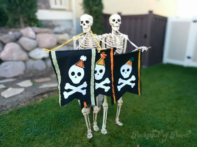 Skull-Banner-Craft