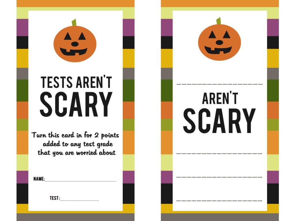 Teacher halloween printables